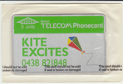 BT Private 11 Kite Excites, Promoters, Sealed mint phonecard