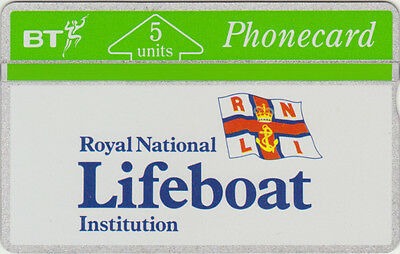 BT General 8 Royal National Lifeboat Institution. mint phonecard. catalogued £18