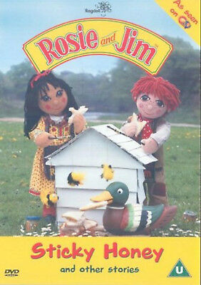 ROSIE AND JIM BUMPER SPECIAL STICKY HONEY AND OTHER STORIES DVD New Sealed R2