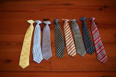 Boys Lot of Eight Children's Ties Dress Suits Youth