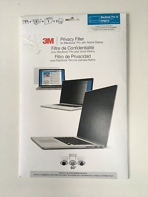 "3M Privacy Filter For MacBook Pro 15.4"" 16:10 with Retina Display"