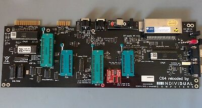 Reloaded 64 MK1 (2015) modern Commodore 64 motherboard - Individual Computers