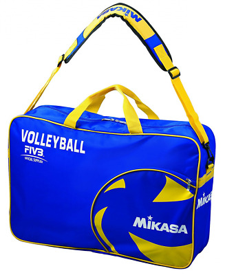 Mikasa Volleyball Ball Bag-Blue / Yellow, 60.0 x 40.0 x 2.0 CM, 18 Litres, 1937