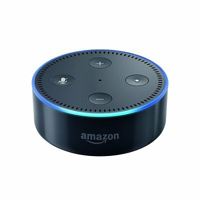 Echo Dot (2nd Generation) Smart Assistant - Black +(FREE& FAST SHIPPING )
