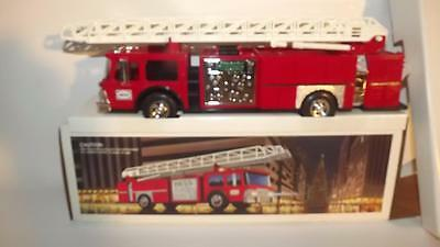 1986 HESS Firetruck NEW in Box RED SWITCH 3 Inserts Fire Truck MORE HESS AVAIL