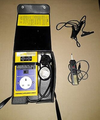 ParkerBell PAC 500 -SP Portable Appliance Check PAT tester  test and tag