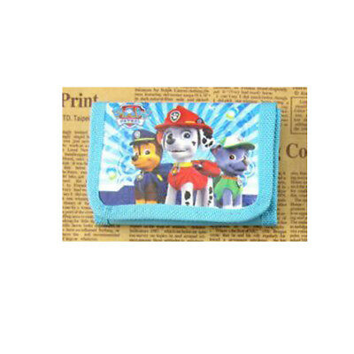 Movie Figure Paw Patrol  Puppy Coin Money Pouch Bag Purse Wallet Kids Gift c