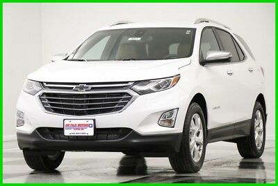 2018 Chevrolet Equinox Premier AWD  Heated Cooled Leather Navigation  Cam 2018 Premier AWD  Heated Cooled Leather Navigation  Cam New Turbo 1.5L I4 16V