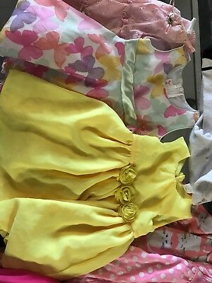 Lot of Baby Girls Size 18 Months Sleepers Leggings Adorable Easter Dresses