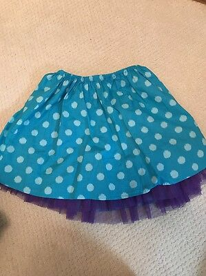 Garnet Hill-Girls skirt-size 8/10- Turquoise and Purple