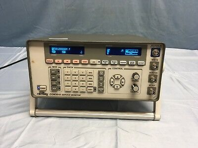 Ramsey COM3010 Communications Service Monitor TESTED