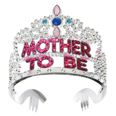 Forum Novelties Baby Shower Mother to Be Crown Tiara St. Patricks