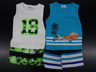 Infant & Toddler Boys Sweet & Soft $65 Tank Top & Swim Trunks Sets Size 12m - 4T