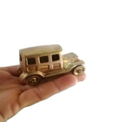 American Antique Car Vintage Classic Small Made of copper Hand Carved Nice 102gm