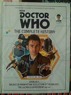 Dr Who The Complete History Hardback Book BBC DAVID TENANT