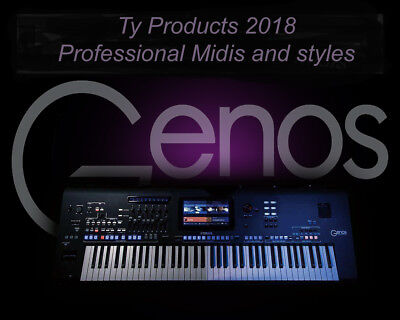 GENOS Brand new Professional styles and Midis 2018 !!LOOK!!