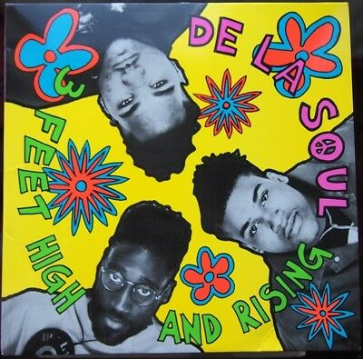 "De La Soul "" 3 Feet High And Rising "" New 3 X Lp Set Vinyl 38 Trks"