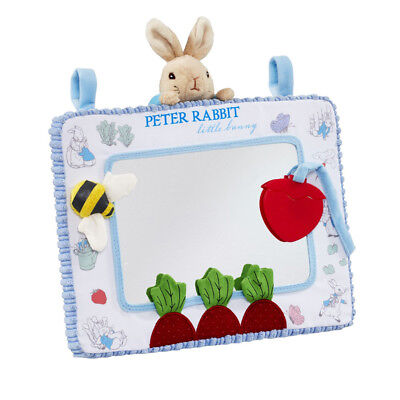 Peter Rabbit Activity Mirror for Tummy Time, Car Seat or Cot