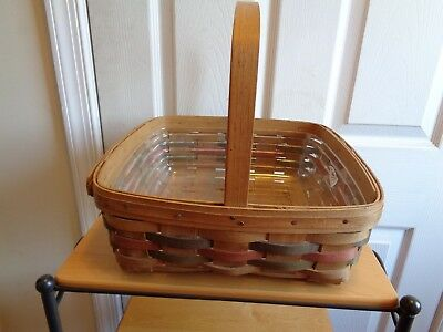 Longaberger 1987 Easter Pie Basket Combo First In Series