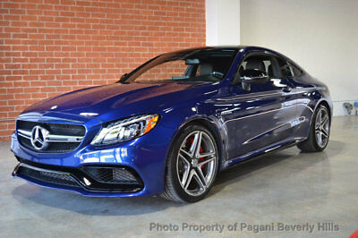 """2017 Mercedes-Benz C-Class AMG C 63 S Coupe 2017 MERCEDES BENZ C63S """"STUNNING INSIDE AND OUT!"""""""