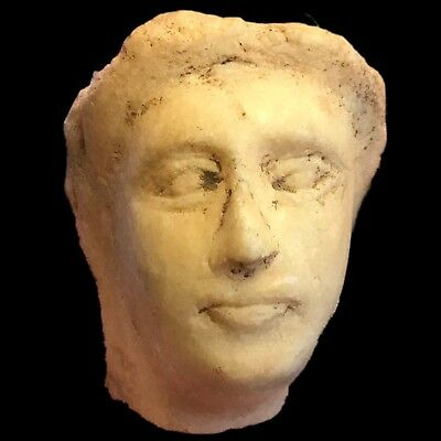 HUGE ANCIENT ROMAN MARBLE BUST 1st - 2nd Century AD