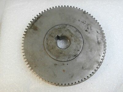 small steampunk STEEL HELICAL GEAR machine age industrial lamp parts? #4