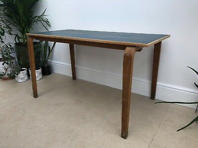 Mid Century Vintage School Desk 'ESA Esavian' Made in Britian