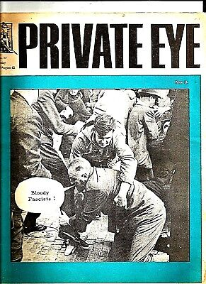 Private Eye Mag # 17  10 August 1962  Oswald Mosley Ridley Rd London E8  Fascist