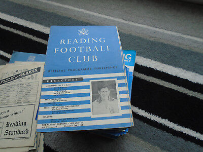 Reading V Wisbech Town 1957-8 Fa Cup 2Nd Round