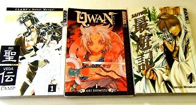 Manga Books - Excellent Condition - Anime Comic Book Lot