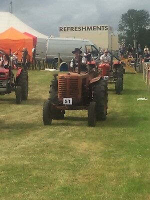 Rare Renault 3046 Tractor Like Grey Fergie Fordson David Brown