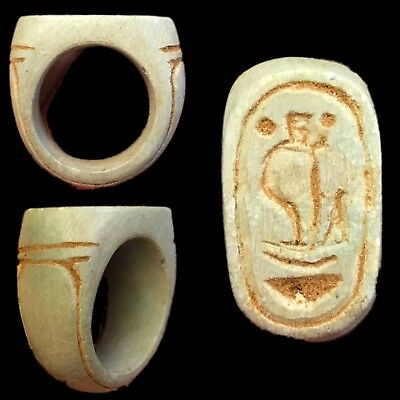 Very Rare Ancient Egyptian Ring 300 Bc