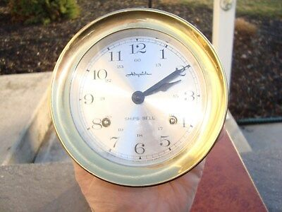Vintage AirGuide Ship's Bell Clock
