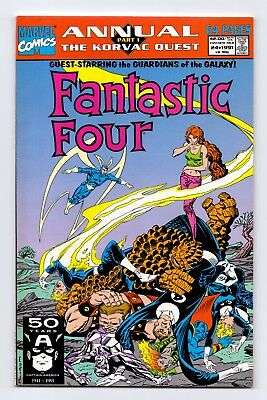 Marvel Comics: Fantastic Four Annuals #24/#25/#26/#27 - Four Issues!
