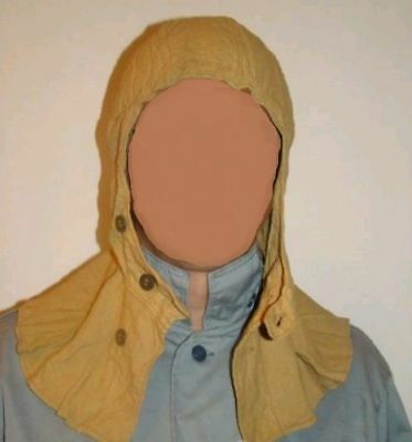 Original USSR Red Army soldiers military cotton balaclava hood part of OKZK set.