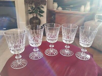 Royal Brierley Crystal Wine Glasses Set Of Three Of Fife 5.5""