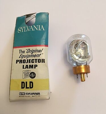 GE DLD/DFZ Projector Lamp NEW OLD STOCK 30v 80w IN BOX Free Ship