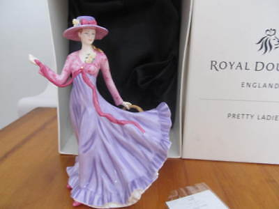 Royal Doulton Pretty Ladies Figurine Julie , Hn 5374 , 9 Inches Tall,  With Box