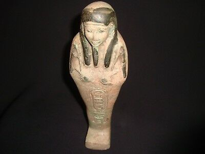 Rare Antique Ancient Egyptian Statue USHABTI 300-350 BC