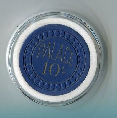 """++++ $$$ OLD 1940-50s PALACE CLUB 10c DIME RENO """" Cowboy & Jackpot """" RATED """" M """""""