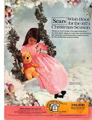 1973 SEARS Christmas WISH BOOK Toys Trains Barbie Dollls Games Models