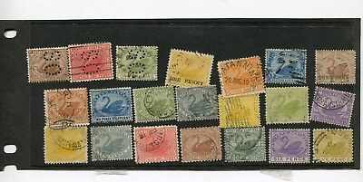 Stamps Western Australia - Swans Mixed Lot - FU Condition.