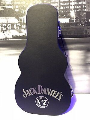 Jack Daniels Limited Edition Guitar Case Box With Metal Stopper No Bottle Inc.