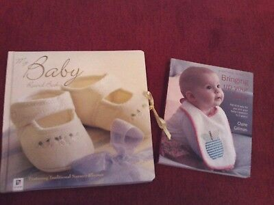 * My Baby Record Book *Unused & ' Bringing Up Your Baby ' Book , Good Condition.