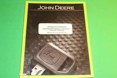 John Deere Greenstar Guidance Parallel Tracking OMPC20521 Issue A6