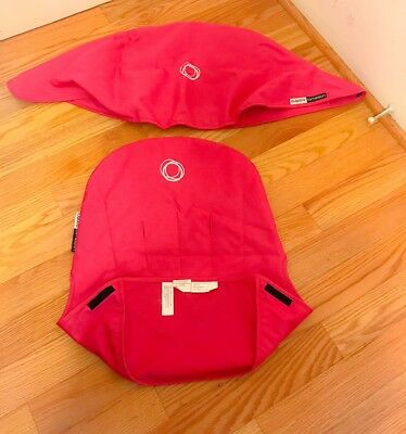 Bugaboo Cameleon - Canopy And Seat Hot Pink & BUGABOO CAMELEON 3 Hot Pink Canopy - $50.00 | PicClick