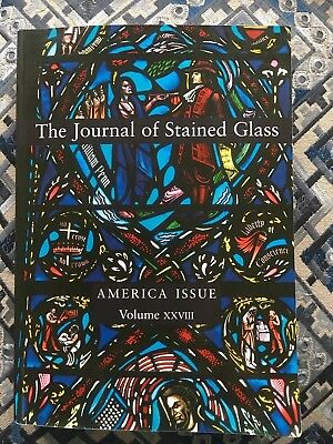 Book journal of stained glass. America issue excellent condition