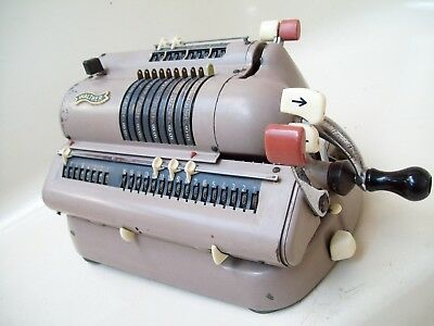 Vintage Walther Wsr-160 Mechanical Calculator
