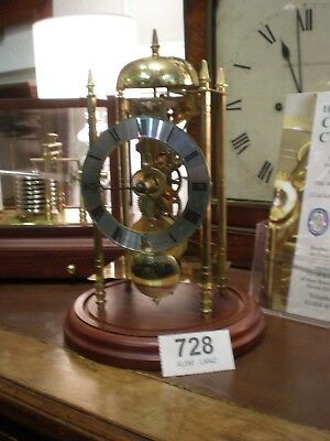 Skeleton Clock Hermle 701 031 Movement Sewills Liverpool mantle wall bell parts
