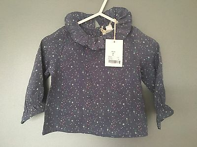 Marie Chantal Silk Blouse 6 Months New With Tag